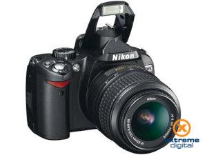 Nikon D60 Double Zoom kit (18-55mm VR + 55-200mm VR objektívvel)