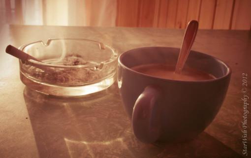A reggeli kávém!